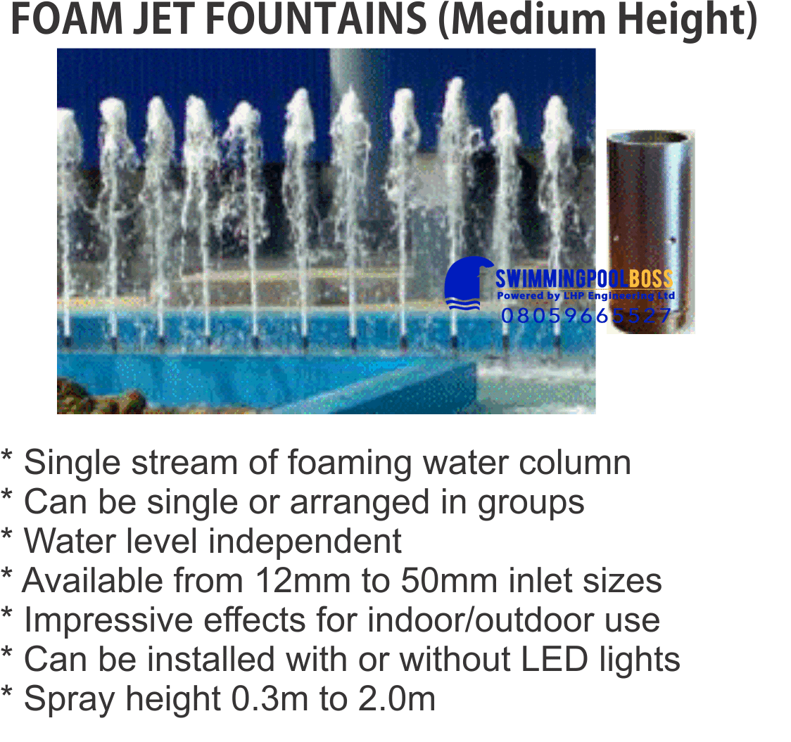 FOAM JET FOUNTAINS
