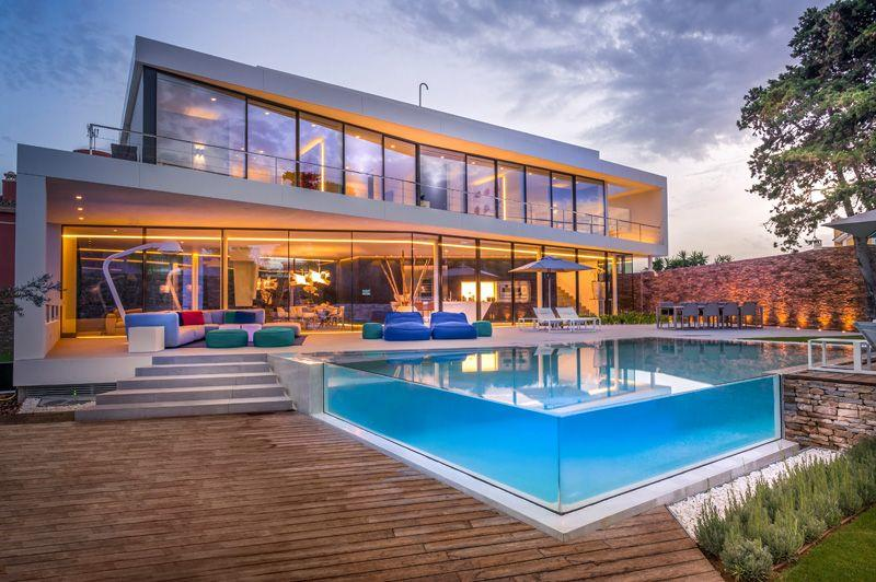 See-through swimming pool construction companies in Nigeria