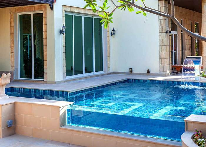 Transparent swimming pool construction companies in Nigeria.